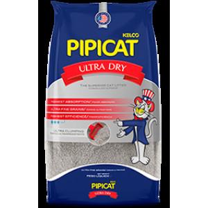 Areia Higiênica Pipicat Ultra Dry - 4/9kg