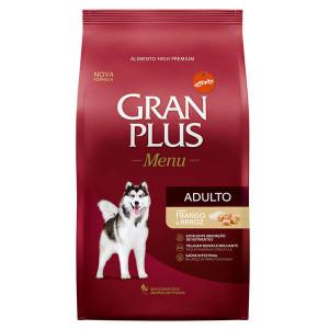 Gran Plus Cães Adultos Frango e Arroz - 15kg