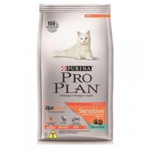 Pro Plan Sensitive Para Gatos Sabor Peru E Arroz - 1,5kg