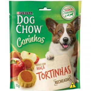 Petisco Dog Chow Carinhos Cães Adultos - Tortinha de Maçã - 75g