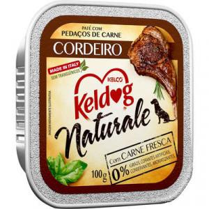 Keldog Patê Naturale Cordeiro - 100g