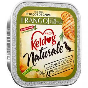 Keldog Patê Naturale Frango com Vegetais - 100g