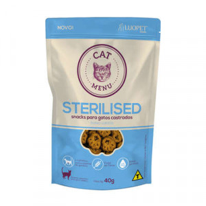 Cat Menu - Sterilised - 40g