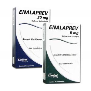 Enalaprev - 5mg/20mg - 20 comprimidos