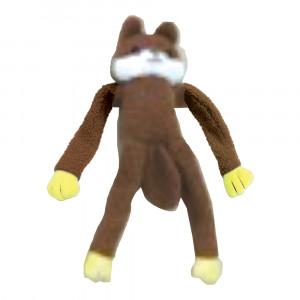 Esquilo de Pelúcia Chalesco Brinquedo Para Cães