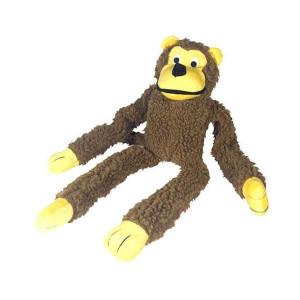 Macaco de Pelúcia Chalesco Brinquedo Para Cães