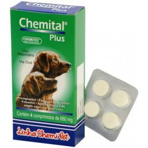 Chemital Plus - 4 comprimidos