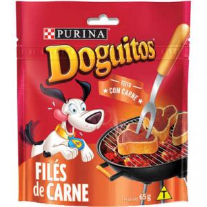 Petisco Doguitos Filé de Carne - 65g