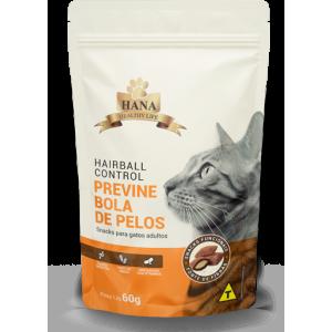 Hana Nuggets Snack Hairball Control Gatos Adultos - 60g