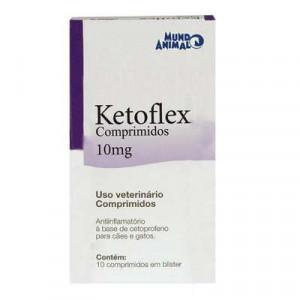 Ketoflex - 10mg - 10 comprimidos