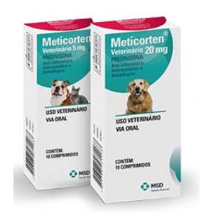 Meticorten - 5mg/20mg - 10 comprimidos
