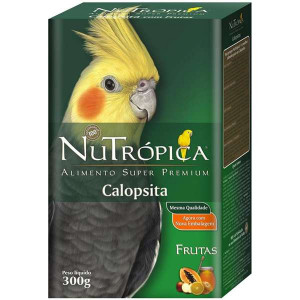 Calopsitas com Frutas Nutrópica - 300g