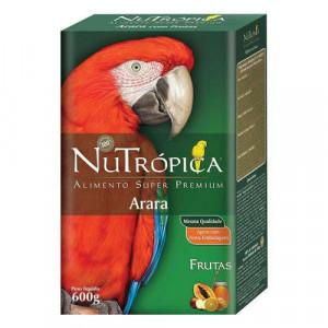 Nutrópica com Frutas para Arara - 600g