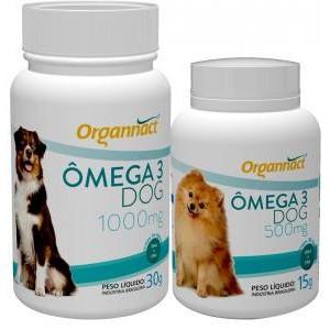 Ômega Dog 500mg/1000mg - 30 comprimidos
