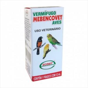 Vermífugo Mebencovet Aves - 12ml