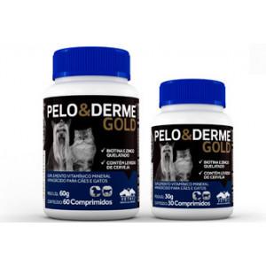 Pelo & Derme Gold - 30 e 60 comprimidos