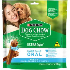 Petisco Dog Chow Oral Cães Adultos Raças Pequenas - 45/105g