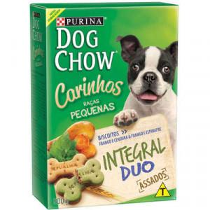 Biscoito Dog Chow Carinhos Integral Duo Raças Pequenas- 500g/1kg