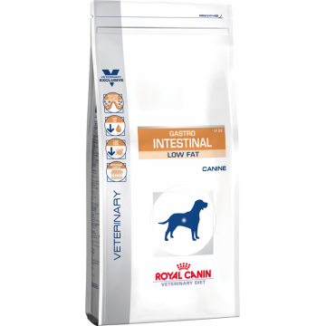 Royal Canine Gastro Intestinal Low Fat - 1,5kg/10kg