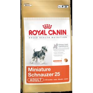Royal Miniature Schnauzer Adult - 3kg/7,5kg