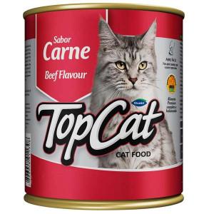 Top Cat em Lata Carne - 290 g