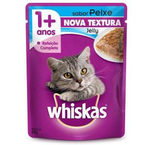 Whiskas Sachê Peixe para Gatos Adultos - 85g