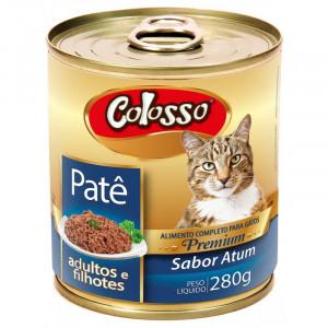 Lata Patê Premium Colosso Gatos de Atum - 280g