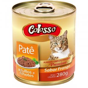 Patê Premium Colosso Gatos de Frango - 280g