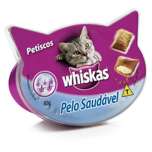 Whiskas Temptations Pelo Saudável  - 40g