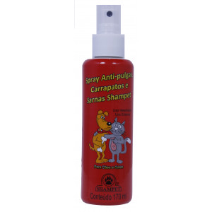 Shampet Spray Anti Pulgas - 170ml