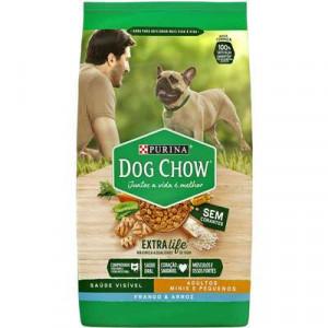 Dog Chow Adulto Raças Pequenas Frango e Arroz - 3kg