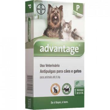 Advantage Cães e Gatos - 0,4ml / 1ml