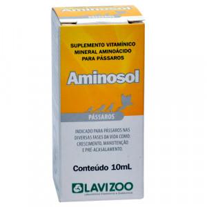 Aminosol Pássaros - 10ml