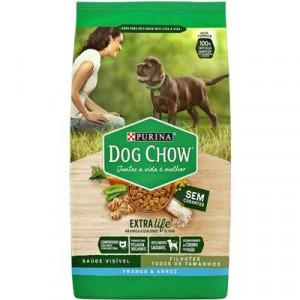 Dog Chow Filhote Carne e Arroz Raças Pequenas - 15kg