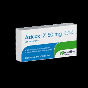 Azicox-2 - 50mg/200mg - cartela 6 comprimidos