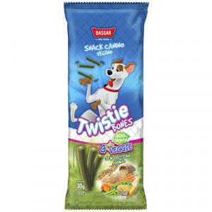Snack Twistie Canudinho Vegano Cães - 30g