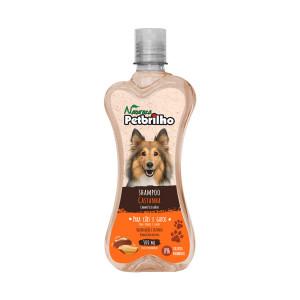 Shampoo Petbrilho Castanha Cães e Gatos - 500ml