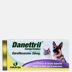 Danettril   Antibiótico  10Comprimidos
