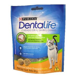 Petisco Dentalife para Gatos Frango - 40g
