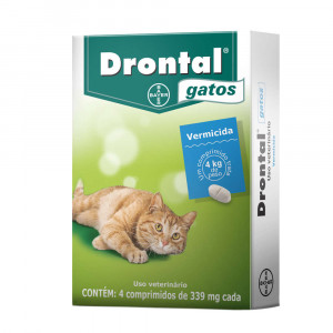 Drontal Gatos - 4 comprimidos