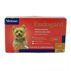 Endogard - 2 comprimidos para 2,5kg/10kg/30Kg