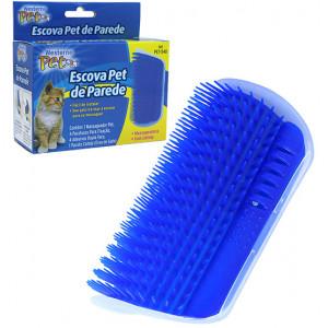 Escova Massageadora de Parede para Gatos + Catnip