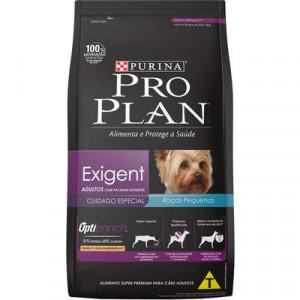 Pro Plan Exigentes para Cães Adultos Raças Pequenas  - 2kg