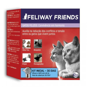 Feliway Friends Difusor + Refil - 48ml