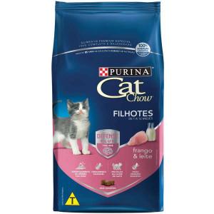 Ração Cat Chow Filhotes - 10Kg Purina
