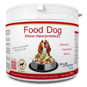 Food Dog - Dietas Hiperproteicas 100g/500g