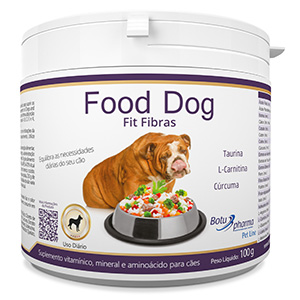 Food Dog - Fit Fibras 100g/ 500g