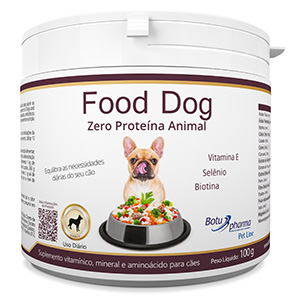 Food Dog - Zero Proteína Animal 100g/ 500g