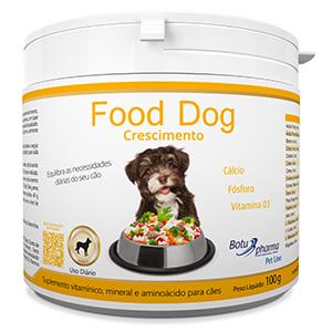 Food Dog - Crescimento 100g/ 500g