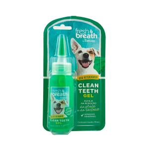 Solução Oral Tropiclean  Clean Teeth Gel Cães e Gatos - 59ml